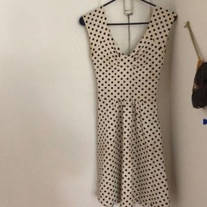 Polka Dot Anthro Dress